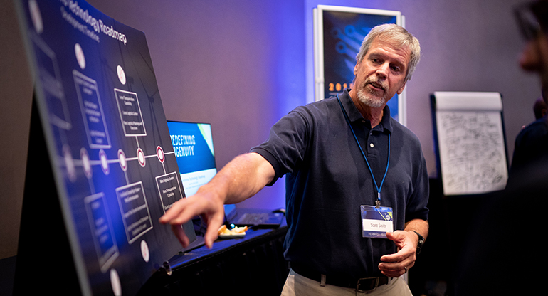 G. Scott Smith describes his space systems technology roadmap.