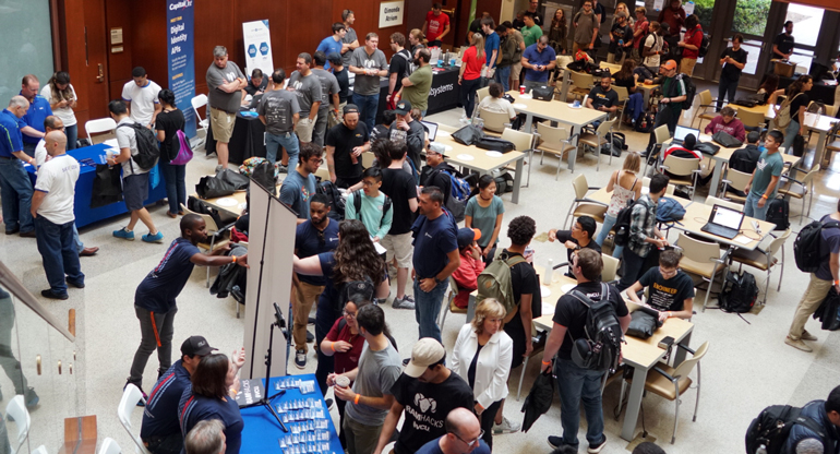 university students compete in sotware enginerring and programming challenges