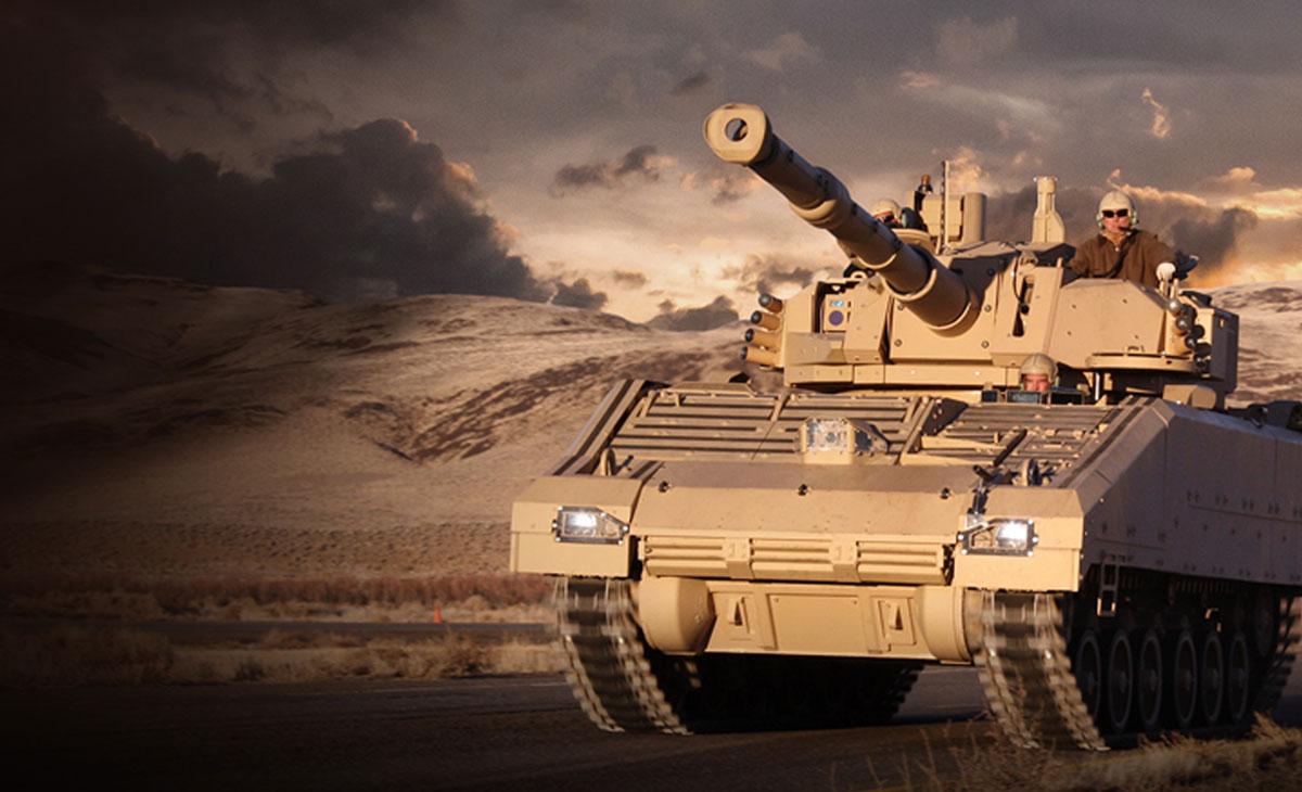 NEW VEHICLE PROTECTS SOLDIERS IN FUTURE CONFLICTS